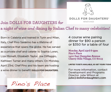 A Night of Wine and Dining benefitting Dolls for Daughters
