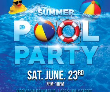 Pool Party hosted by the Youth Advisory Board